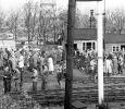 Hagley Railway Sidings in 1957