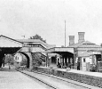 Hagley Railway Station in the 1920s