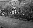 The Queen visits Hagley in 1957