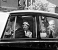 The Queen visits Hagley in 1957