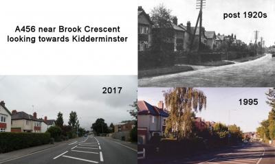 A456 near Brook Crescent looking towards Kidderminster
