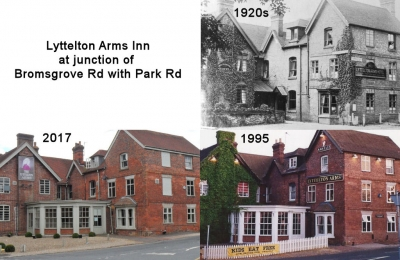 Lyttelton Arms Inn at the junction of Bromsgrove with Park Raod