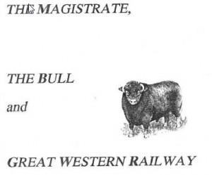 Magistrate Bull GWR
