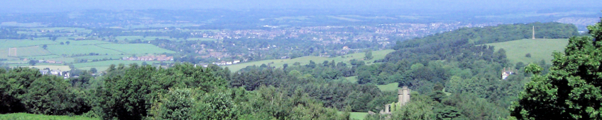 Hagley - Viewed from Clent Hills